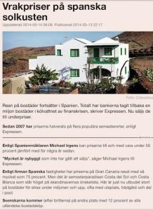 DI om spanska bostadsmarknaden