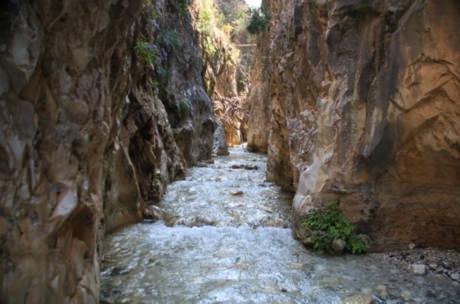 Rio Chillar vandringsled