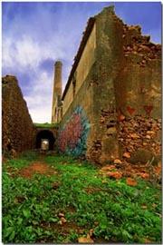 Ruiner utanför Nerja
