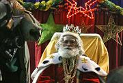 Även en vis man kan bli trött av det hektiska julfirandet