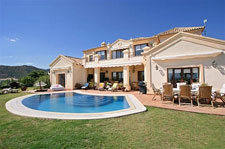 Hus i Marbella med pool