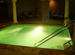 I hotellets spa finns flera hälsobad