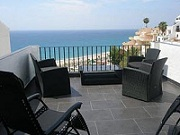 Lägenhet med utsikt från terrassen