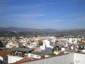 Utsikt över Velez Malaga