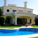Maffig villa med pool