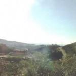Utsikt över den andalusiska landsbygden