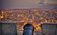 Utsikt över Alicante från slottet