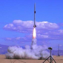 Raketuppskjutning