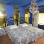 Alla sovrum har unik inredning