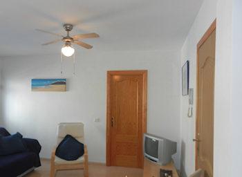Alla möbler ingår i priset för lägenheten
