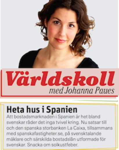Spanska Fastigheter i Aftonbladet kopia