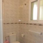 Badrummet har dusch