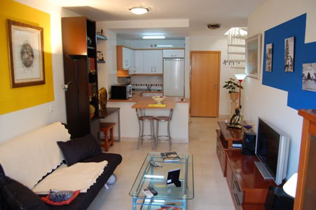 Rymlig penthouse med 1 sovrum