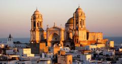 Cadiz historiska kvarter