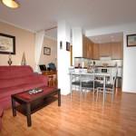 Alla möbler ingår i lägenheten i La Mata
