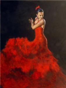 Passionerad Flamenco