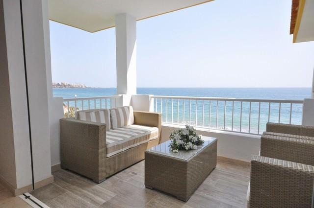Lägenhet first line Marbella