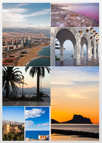 Spanska miljöer