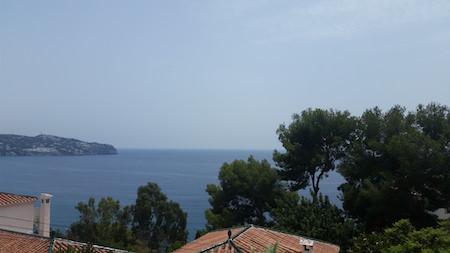 Fantastisk utsikt från huset i La Herradura