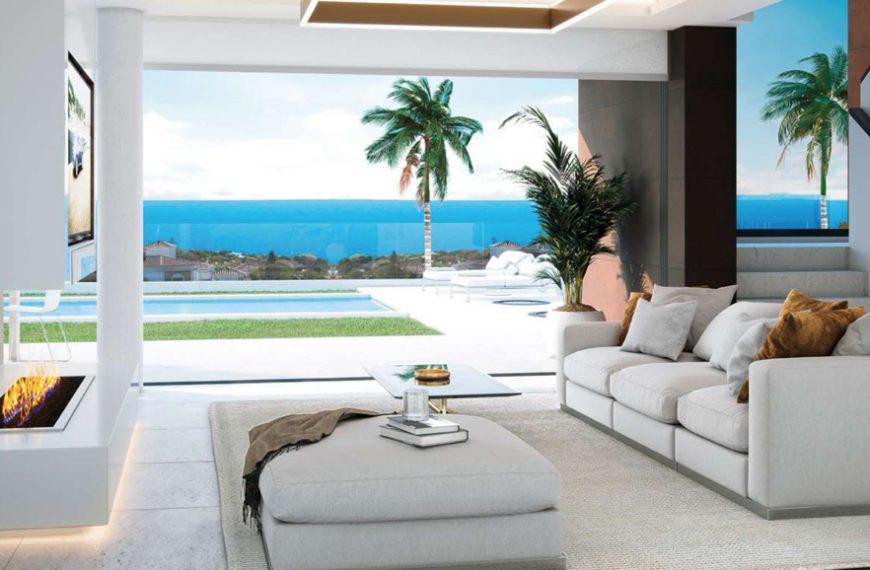 Nybyggda lyxvillor i Nerja som är Costa del sol mest eftertraktade stad