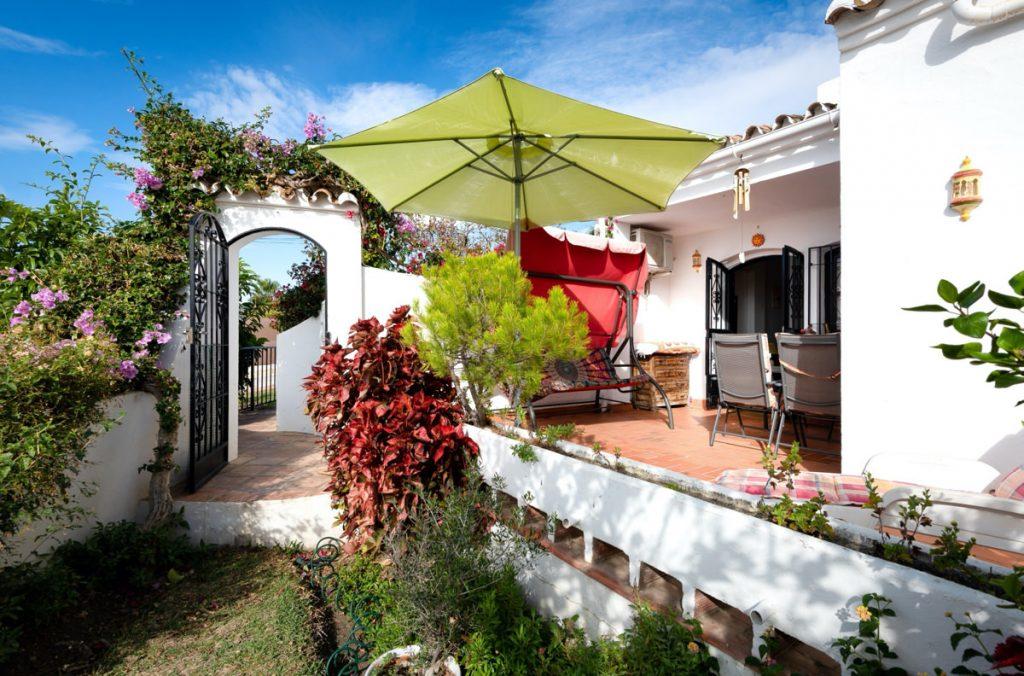 Bostad i San Juan De Capistrano med terrass och trädgård