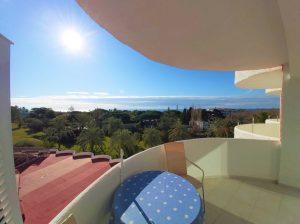 Studio 150 meter från stranden i exklusiva Marbesa, Marbella