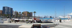 Lägenhet nära Malagueta stranden i Malaga