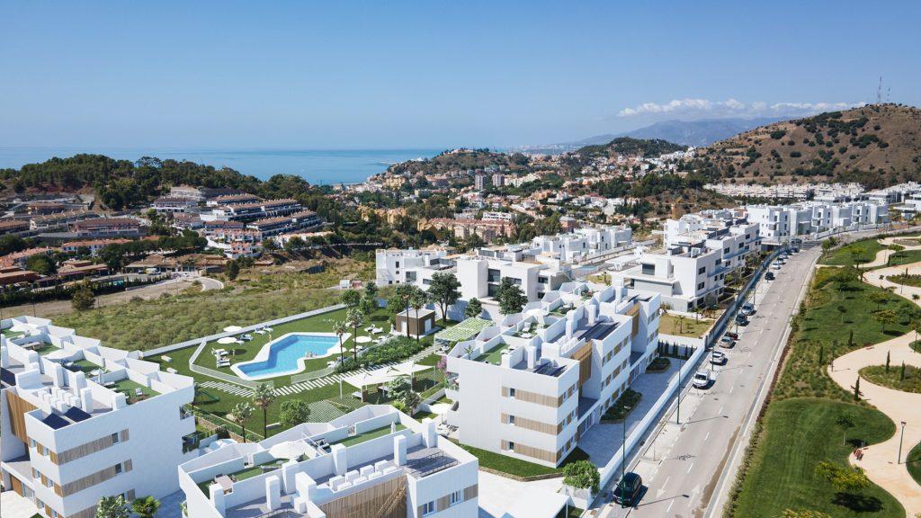 Nybyggda lägenheter i Malaga i exklusiva området Limonar (1-4 sovrum, stora terrasser)
