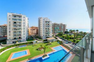 Modern lägenhet med havsutsikt i La Mata, Torrevieja!