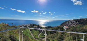 Nyckelfärdig lägenhet med magnifik utsikt i Ladera del Mar Nerja